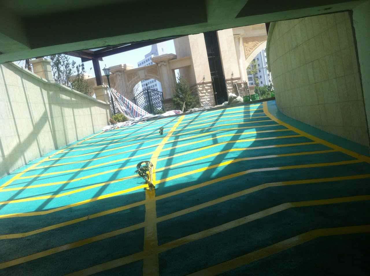 环氧地坪防滑坡道