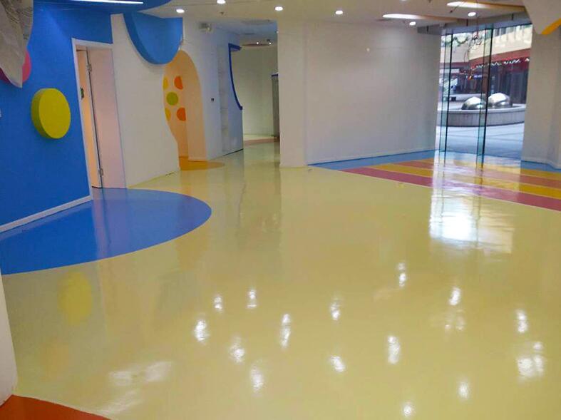 环氧面漆地坪材料